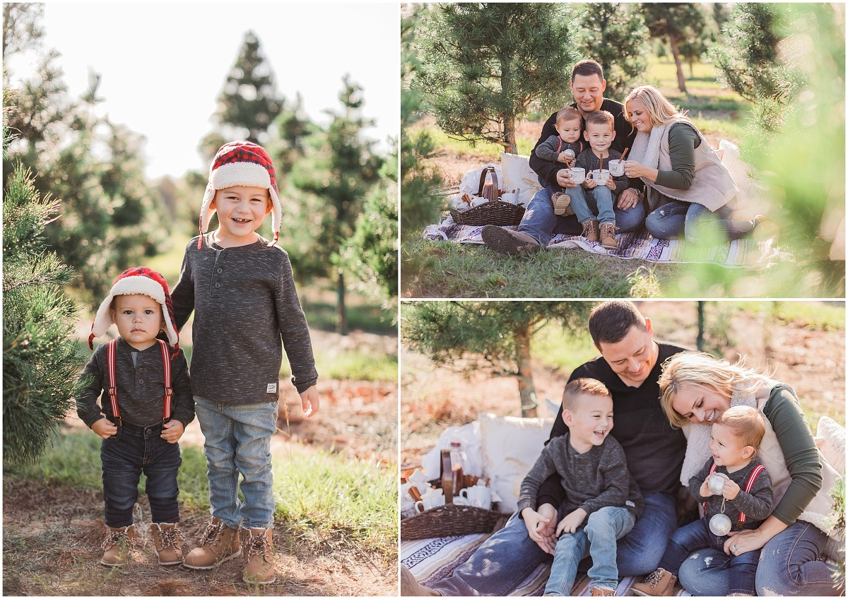 Christmas Tree Farm Photography.Christmas Tree Farm Houston Family Photography Mindy